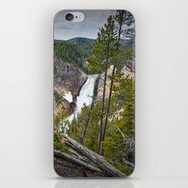Falls in the Grand Canyon of Yellowstone iPhone Skin
