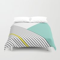 minimal Duvet Covers featuring MINIMAL COMPLEXITY by .eg.