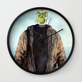 """Jason Vorhees in """"The Son of a Man"""" Wall Clock"""