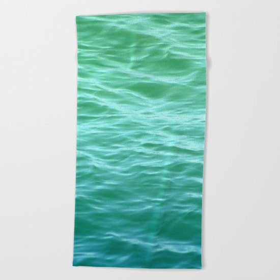 Teal Sea Beach Towel