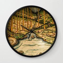 CreekSide Wall Clock