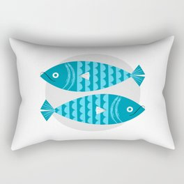 Libra Zodiac Sign Symbols: The Scales Rectangular Pillow