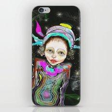 spacegirl iPhone & iPod Skin