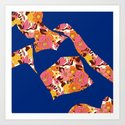 Back to Nature (Retro NZ Floral) by katrinaward