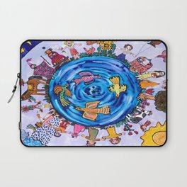 We are all one being Laptop Sleeve
