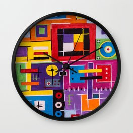 Mind palace Wall Clock