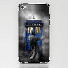 Tardis doctor who lost in the Mist apple iPhone 4 4s 5 5s 5c, ipod, ipad, pillow case and tshirt iPhone & iPod Skin