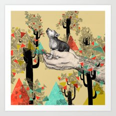 Found You There  Art Print