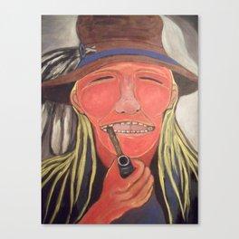 Algonquin Anishnabe Legend Canvas Print