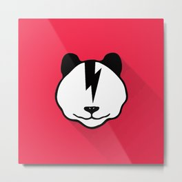 electrica panda Metal Print