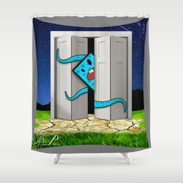Monsters In The Closet Shower Curtain