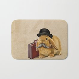Commuter Bunny Bath Mat