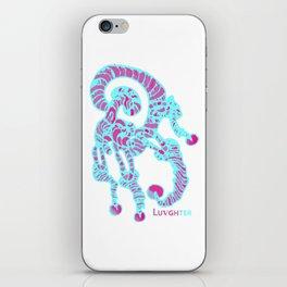 LUVGHTER - Original, Mr Pink Mrs Blue iPhone Skin