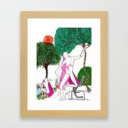 Veils Framed Art Print