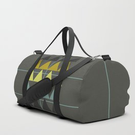 disguise forest || spring neon Duffle Bag