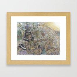 Goddess Isis Framed Art Print