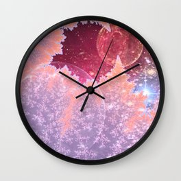 Universe in nature Wall Clock