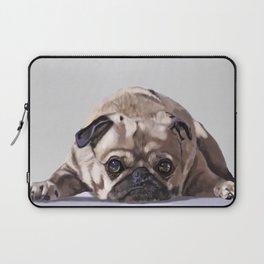Pug at Rest Laptop Sleeve