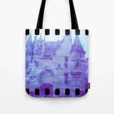 Chateau & Flowers Tote Bag