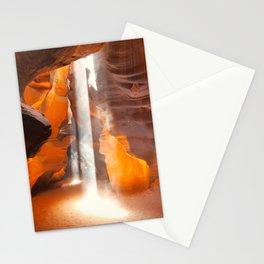 Antelope Canyon Beams Stationery Cards