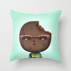 Thin Mint Throw Pillow