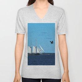 Sails & Geese Unisex V-Neck