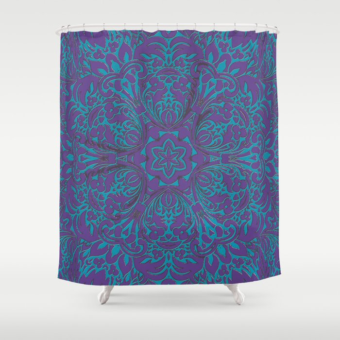 Moroccan Style Decor Shower Curtain