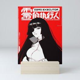 Japanese Samurai Girl Cyberpunk Urban Street Style  Mini Art Print