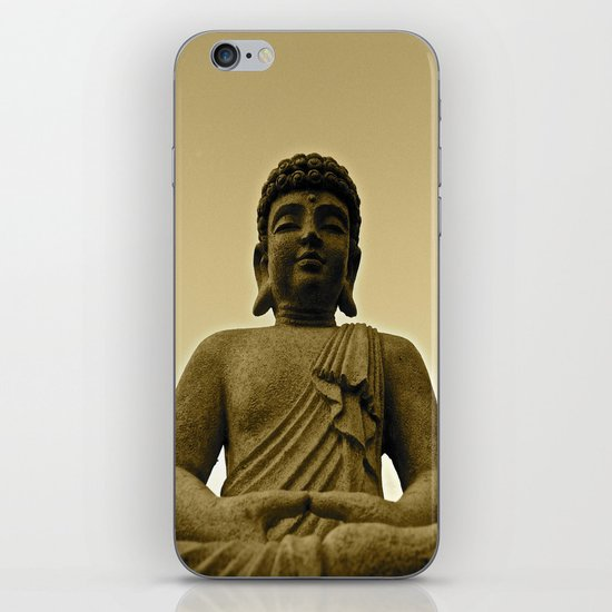 Buddha Prays iPhone & iPod Skin