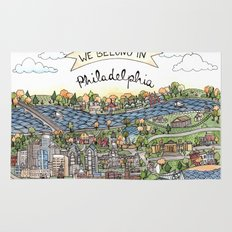 We Belong in Philadelphia! Rug