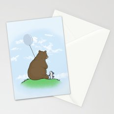 Cloudy the Bear Stationery Cards