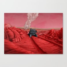 Green Mars Canvas Print