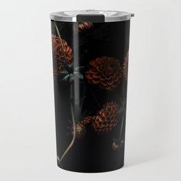 Bronze Dahlias Travel Mug