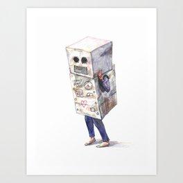 Robotic Connection no. 1 Art Print