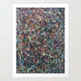 Dragon Sperm (oil on canvas) Art Print
