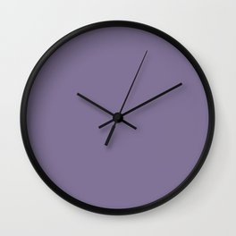 Simply Solid - Purple Haze Wall Clock