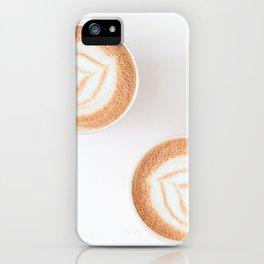 Calming Latte iPhone Case