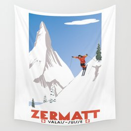 Zermatt, Valais, Switzerland Wall Tapestry