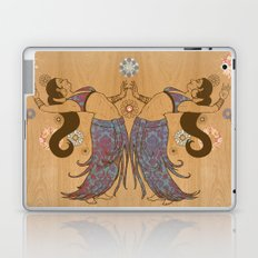 Floral Dancers Laptop & iPad Skin
