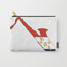 New Orleans Jaz Flag Carry-All Pouch