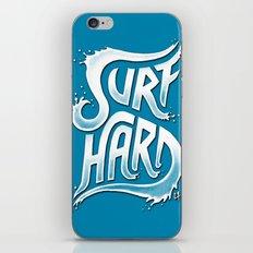 Surf Hard V1 iPhone Skin