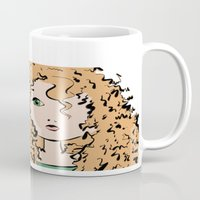 merida Mugs featuring Merida by Crousticro