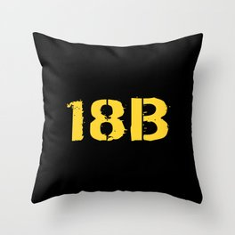 18B Special Forces Throw Pillow