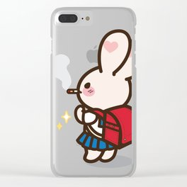 Bad Bunny Girl Lifestyle(1) Clear iPhone Case