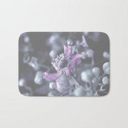 Wildflower Close-up Bath Mat