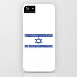 Israeli Flag Israel Jewish Star of David Jerusalem Gift iPhone Case