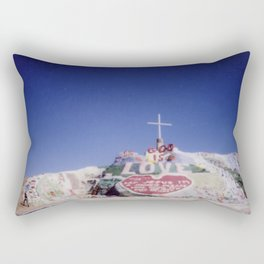 Salvation Mountain Cheki Rectangular Pillow