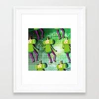 katamari Framed Art Prints featuring Katamari Cousins - Prince by cakeisforrobots