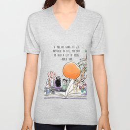 Roald Dahl Day Unisex V-Neck