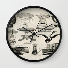 Vintage Avitation Wall Clock